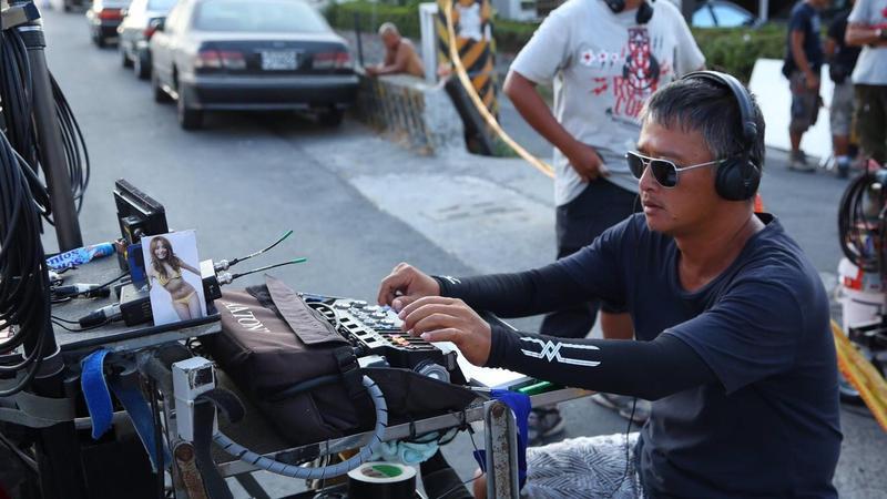 錄音師湯湘竹進入電影圈工作將近30年。(湯湘竹提供)