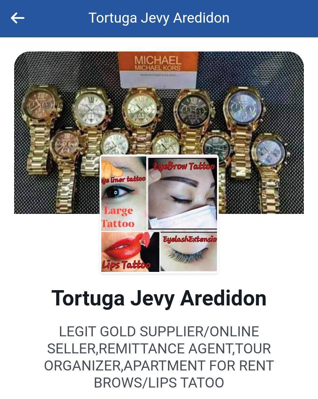 菲律賓吸金集團用臉書做媒介,謊稱從事珠寶、名錶生意,需要資金。(翻攝臉書)