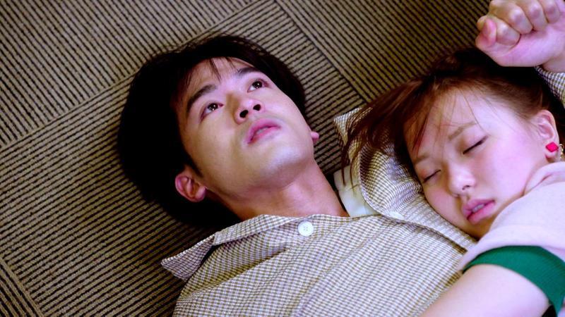 小樂吳思賢與項婕如隨劇組赴日拍攝酒醉戲碼。(三立提供)