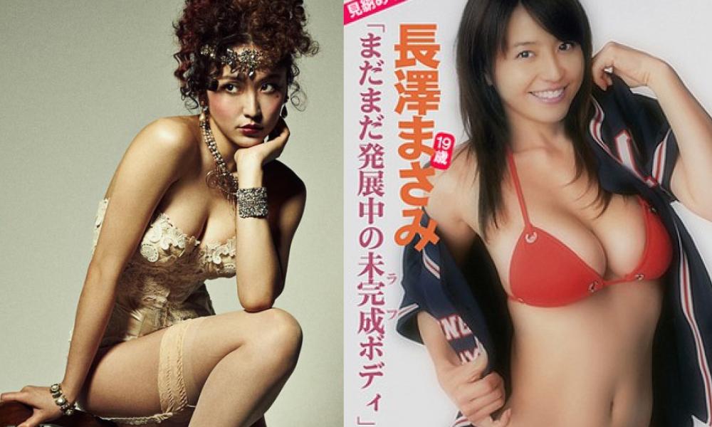 獲得第四名的長澤雅美以美胸聞名,還曾在歌舞劇《酒店》化身復古性感的歌舞女郎。(翻攝自日網)