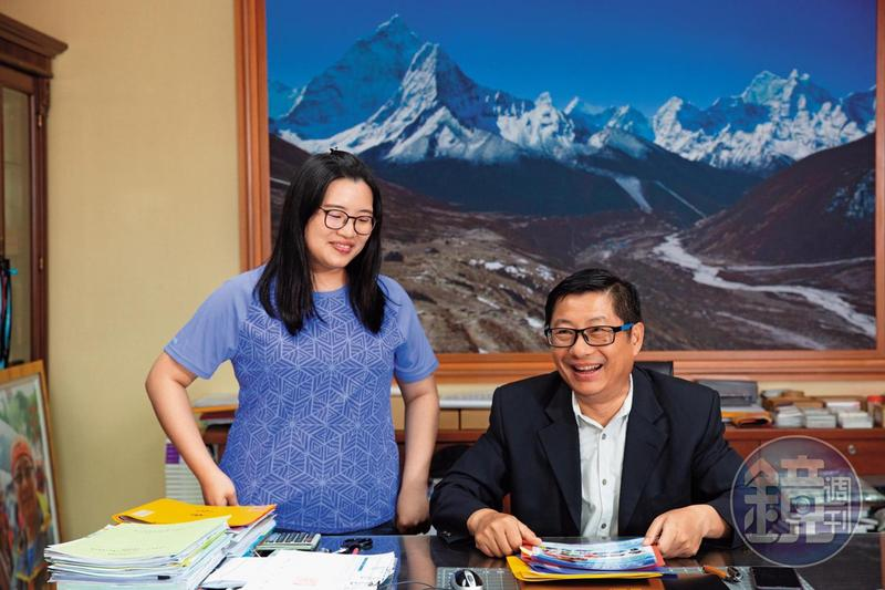 程鯤的大女兒程瑩如去年也進入公司擔任特助工作,幫助父親處理大小事。