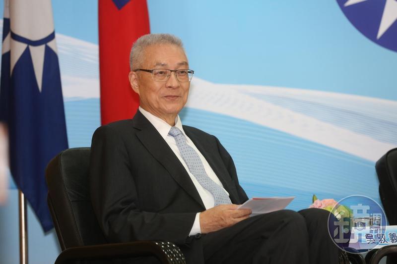 國民黨證實,黨主席吳敦義確定「被動接受」列入不分區立委名單內。