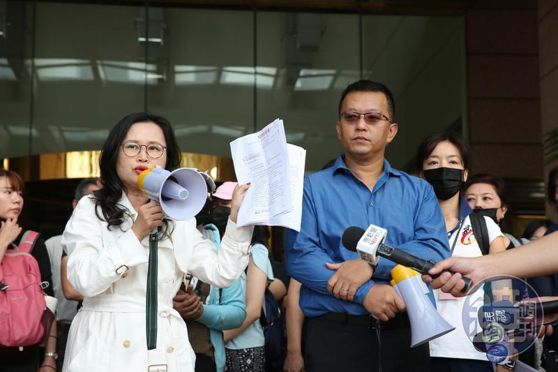 前君鴻董事長張慶輝遭到員工指控,積欠5400多萬元資遣費、預告工資。
