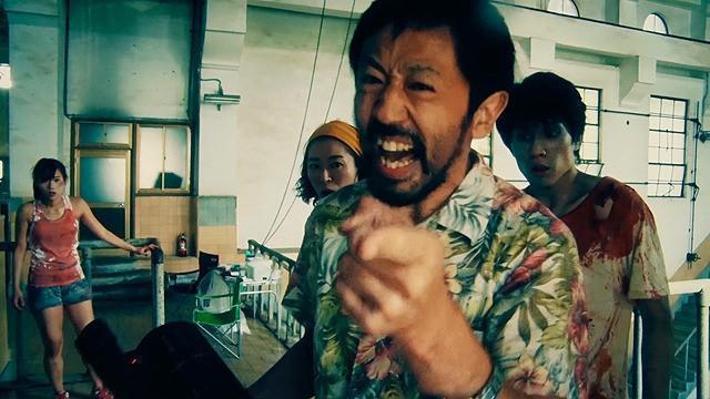 《一屍到底》製作成本僅日幣300萬元,創日本獨立電影票房奇蹟。(車庫娛樂提供)