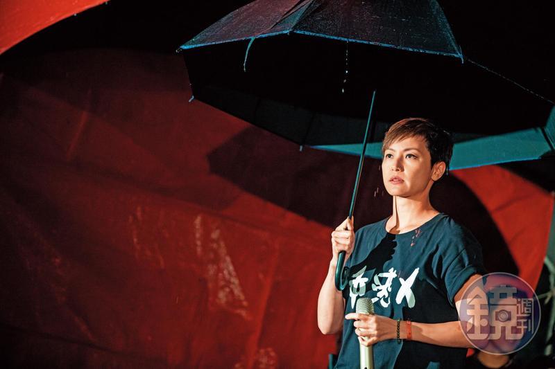 何韻詩拿的雖是加拿大護照,但對香港民主運動依舊積極參與。