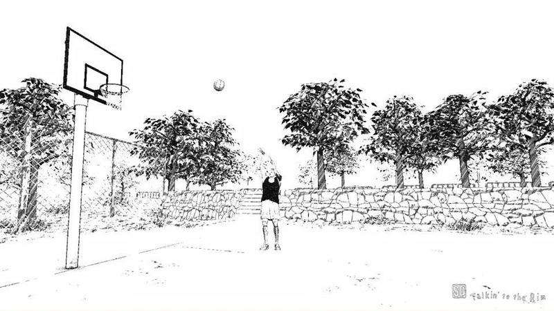 就這樣靜靜地看著櫻木投球,不知道為何居然有些療癒。(翻攝 Google Play 商店)