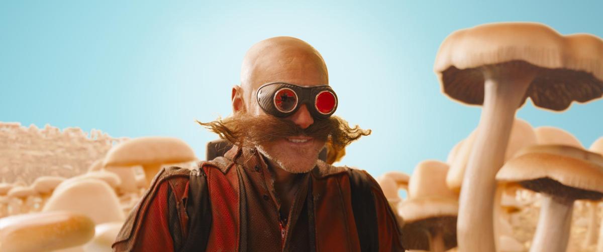 金凱瑞飾演的蛋頭博士,被電玩粉絲稱讚最傳神的人物。(UIP提供)