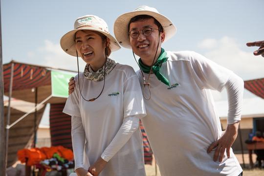 金京蘭與前夫金相旻結婚時豪捐韓幣1億元行善。(網路圖片)