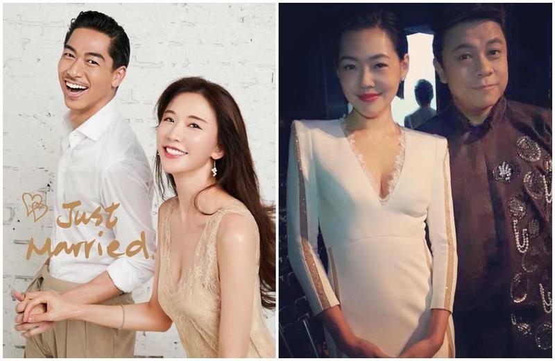 女星林志玲和老公Akira的婚宴將在故鄉台南舉辦婚禮,摯友小S、蔡康永確定出席。 (林志玲工作室提供、翻攝自小S、蔡康永臉書)