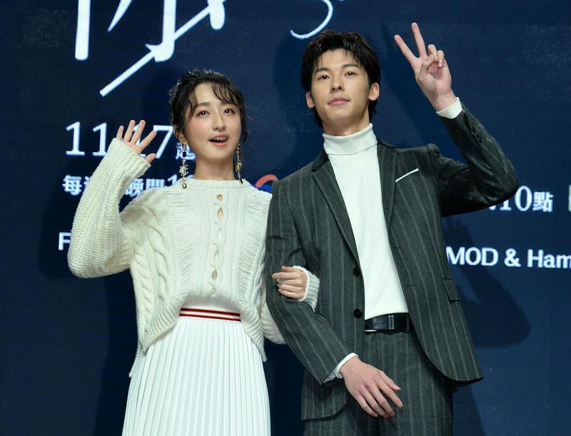 柯佳嬿透露在台南兩個月拍攝期間,美好回憶滿滿。(中視、衛視中文台提供)