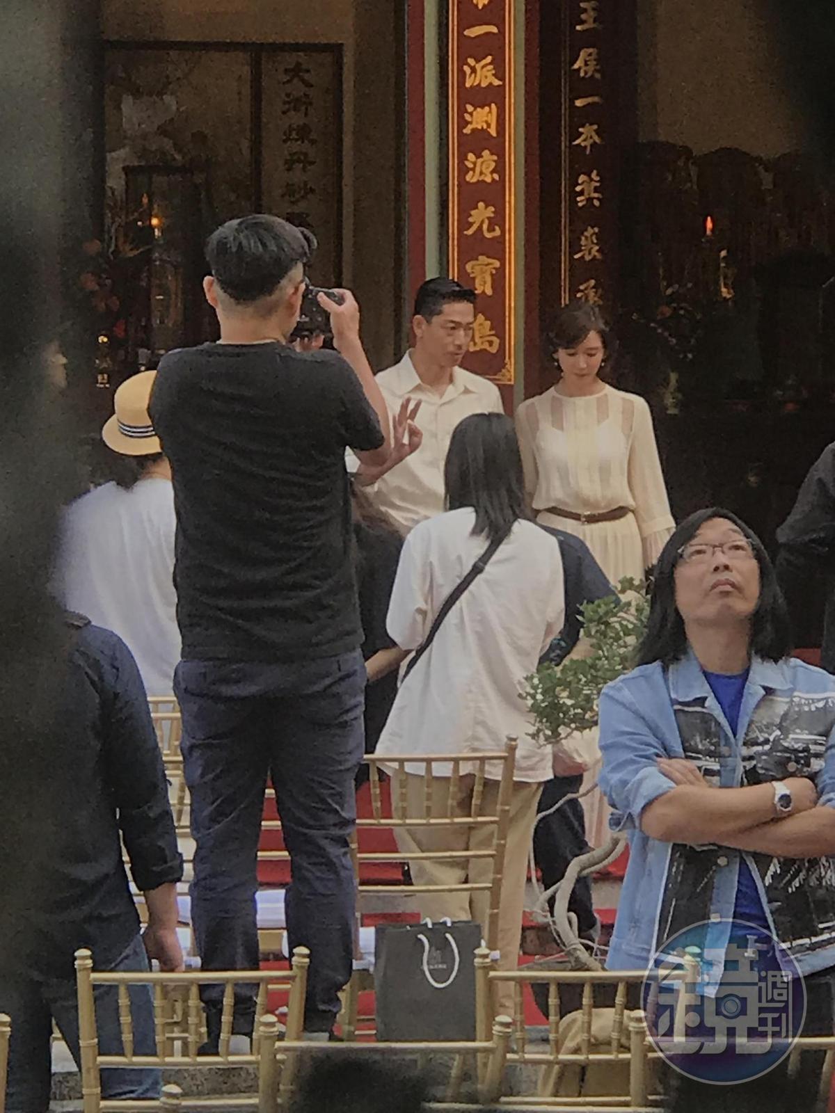 林志玲婚禮儀式將在全臺吳氏大宗祠內舉行。