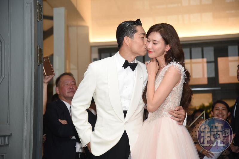 林志玲與AKIRA的世紀婚禮,吸引眾多媒體前往拍攝。