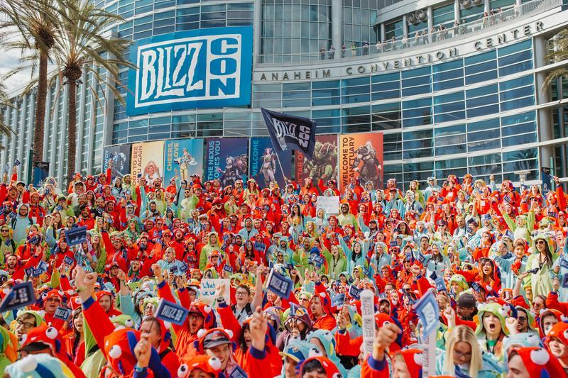 BlizzCon今年一張票價約台幣7000元,仍吸引逾四萬人買票進場。(暴雪娛樂提供)