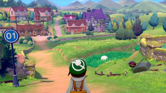 首度引入部分開放世界設定的《寶可夢 劍/盾》。(圖片來源:寶可夢官方網站)