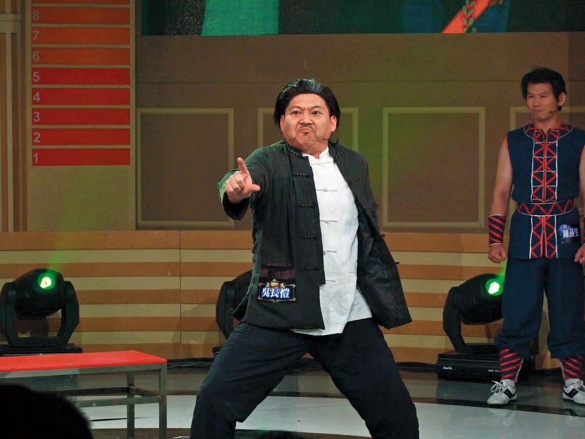 38歲的大愷從第一屆《超級模王大道》出道,以模仿洪金寶一戰成名。(中視提供)