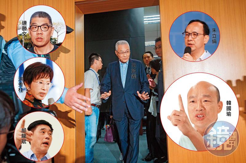 吳敦義強行主導不分區提名,觸怒黨內各方人馬,明年大選過後,恐怕他只能「吳哥哭」了。