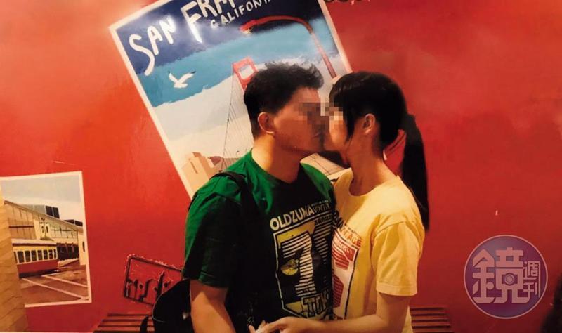 秦、洪吻得深情,出遊台灣各地時都會留下愛的紀錄。(讀者提供)