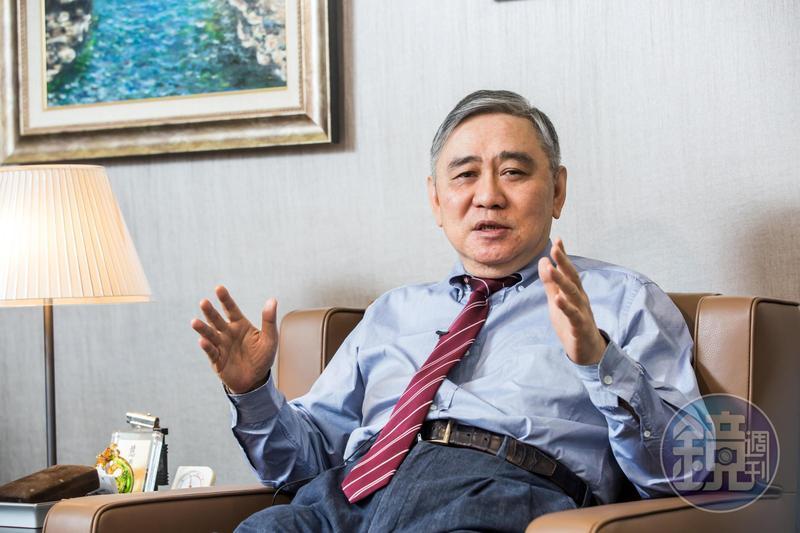 王文洋日前接受本刊獨家專訪,暢談事業布局。