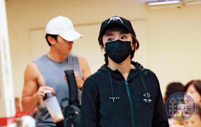 馬俊麟和王瞳7月間曾允諾斷絕來往,9月間卻又被本刊拍到4天約會2次。