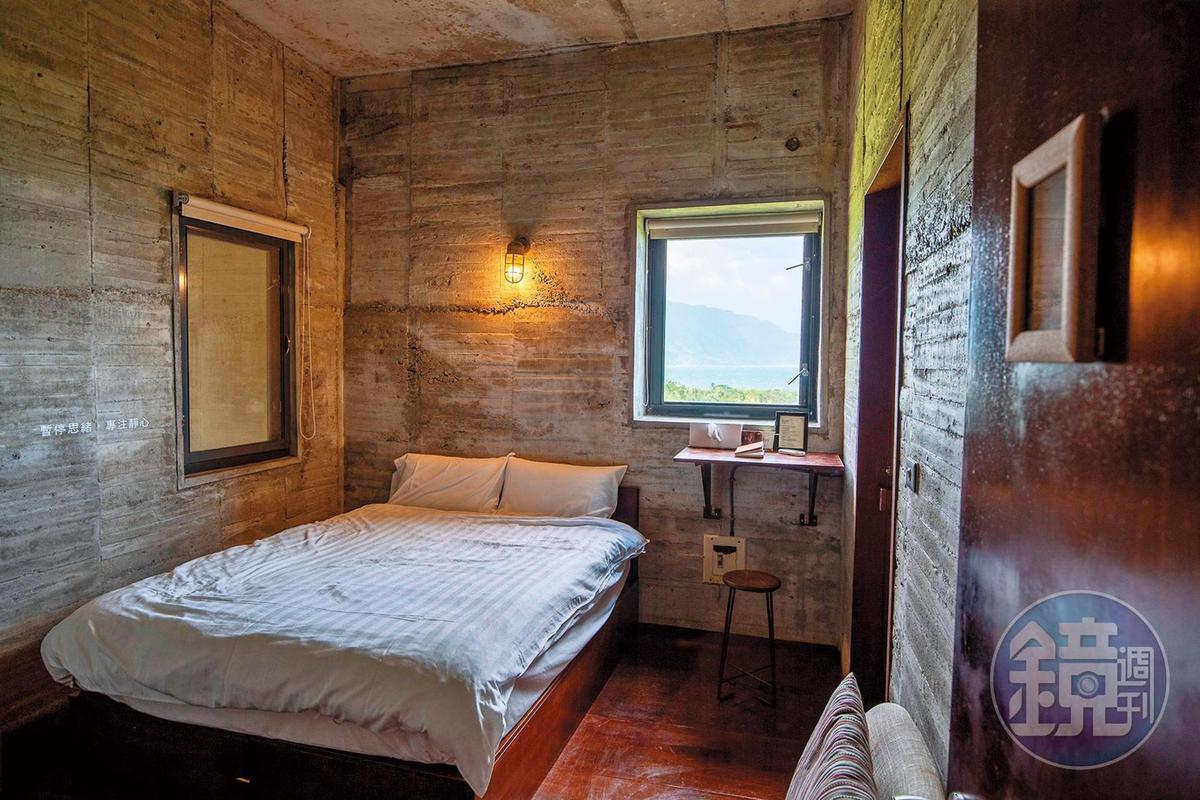 無過多裝飾的「石梯灣118」客房,回歸簡單舒適。