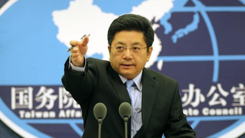 投誠澳洲的中國間碟王立強揭露滲透手法,而中國官方駁斥他的間諜身份,堅稱他是詐欺犯。圖為中國國台辦馬曉光。(翻攝微博)