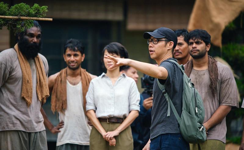 在異鄉拍片因工作模式與台灣不同,林書宇調適很久才適應當地的各種規矩。(甲上提供)