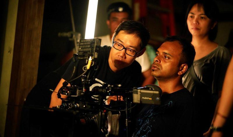 導演林書宇(左)與攝影師Kartik VIJAY的合作,開啟不一樣的視野。(甲上提供)