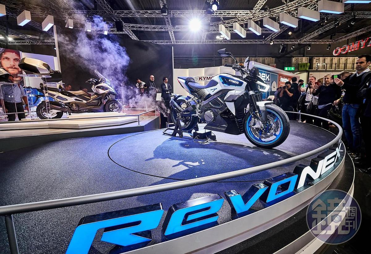 去年在米蘭車展發表的RevoNex在國內首度曝光。