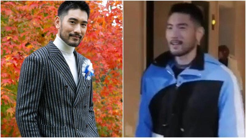 高以翔參加浙江衛視實境節目《追我吧》猝死,右圖為他穿著該節目的特製服裝。(圖/翻攝自微博/新浪娛樂)