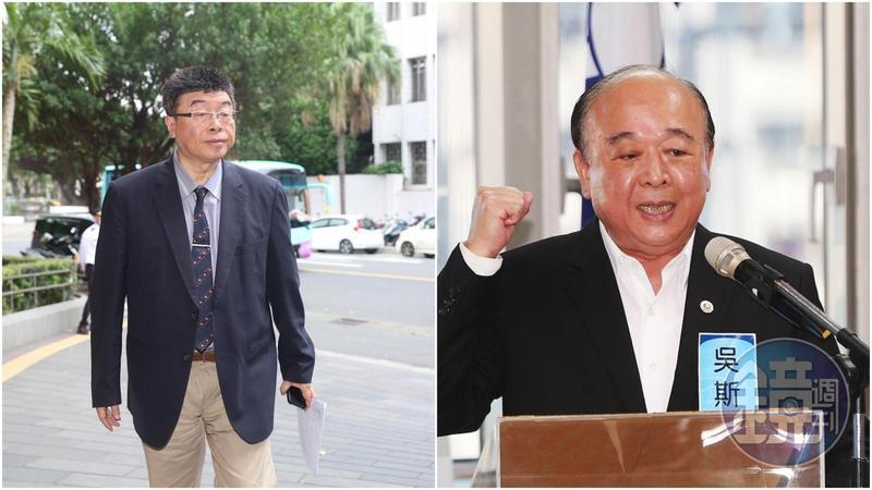 遭外界批評為「中共同路人」的吳斯懷和邱毅財產申報資料曝光。