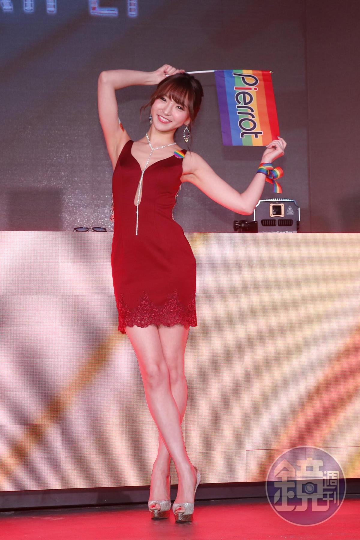 夏木安梨10月來台時曾表示自己正在學中文。