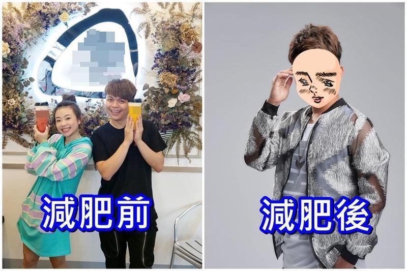 蔡阿嘎11月22日的臉書還在推薦含糖茶飲,之後就戒含糖飲料一週,11月30日貼出他瘦了1.5公斤後拍的宣傳照。(翻攝臉書)