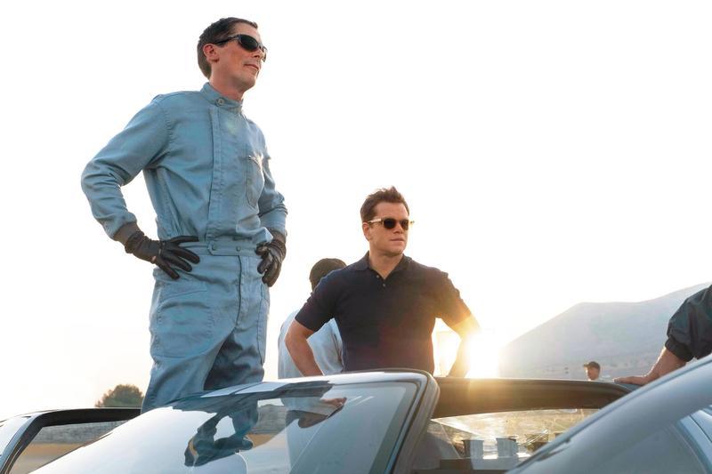 《賽道狂人》並非飆車爽片,導演的企圖心宏大,探討了各式議題,麥特戴蒙的演出更勝一籌。(福斯提供)