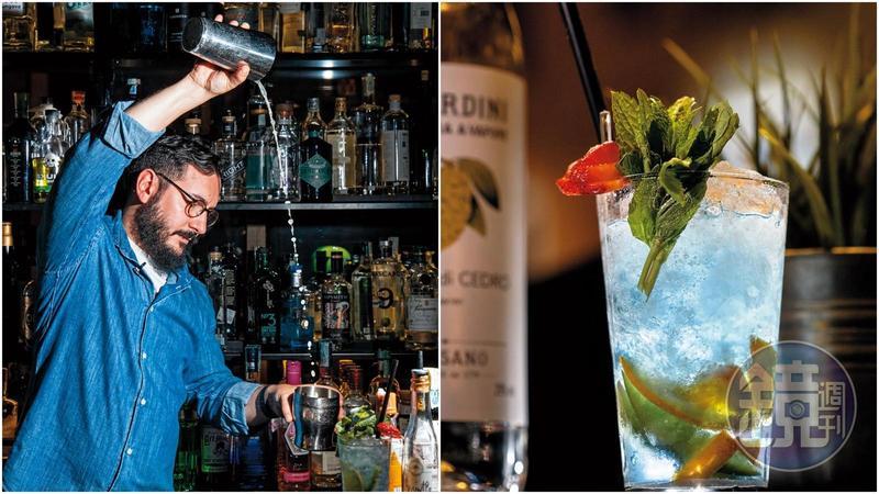 來到位於Treviso的酒吧「Cloakroom Cocktail Lab」,能喝到各種用Prosecco作出的創意調酒。