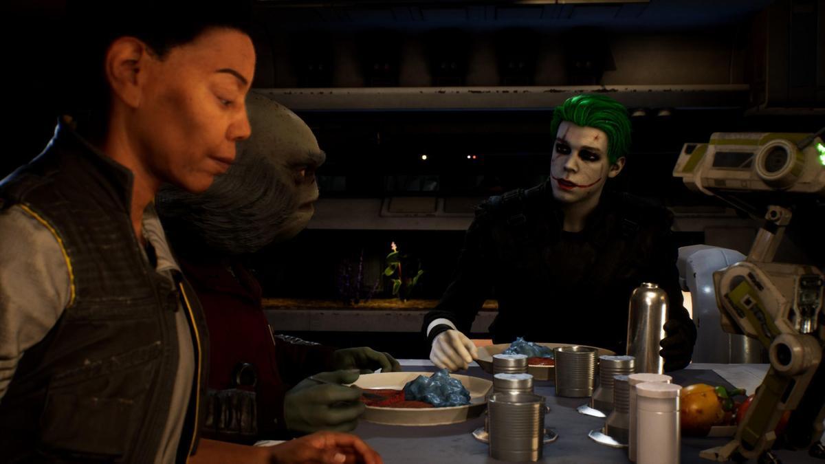 和小丑共進晚餐(?(圖/nexusmods)