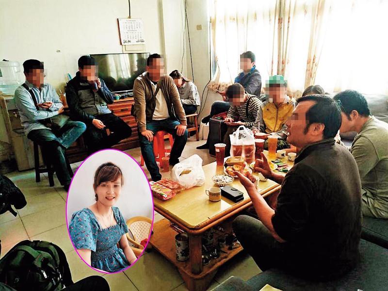 趙姓男子成立越南婚媒直銷集團,還在家中開說明會。(讀者提供)