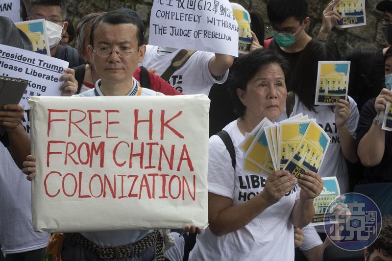中共宣布即日起暫停美軍艦赴港維修,並且將制裁5個曾為香港發聲的非政府組織。