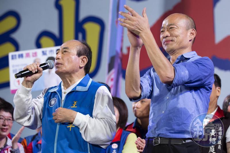 王金平去年曾動用所有人脈為韓國瑜輔選高雄市長,如今再被問到是否輔選韓國瑜選總統,王金平說沒有計畫。