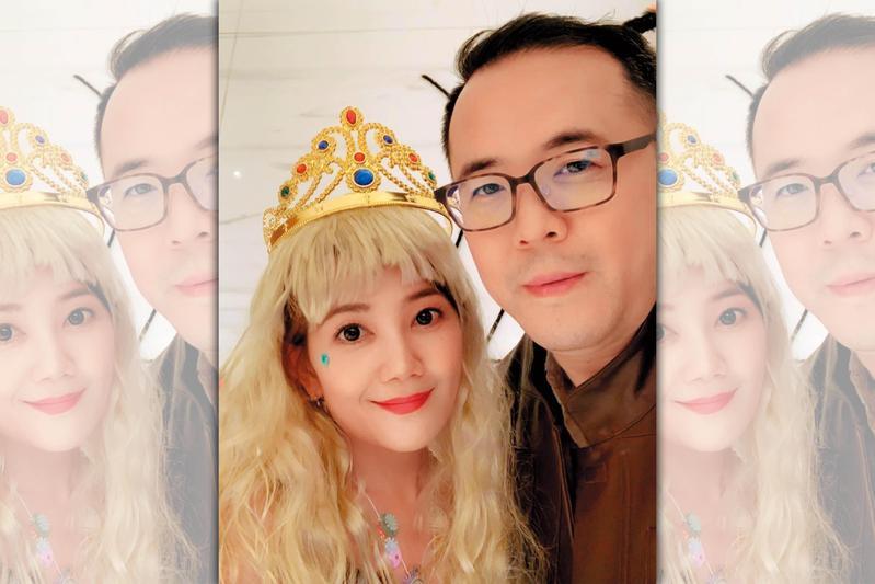 趙元同(右)曾把梁靜茹當公主捧在手心疼,可惜隨著男方劈腿出軌,2人感情不再。(翻攝自梁靜茹IG)