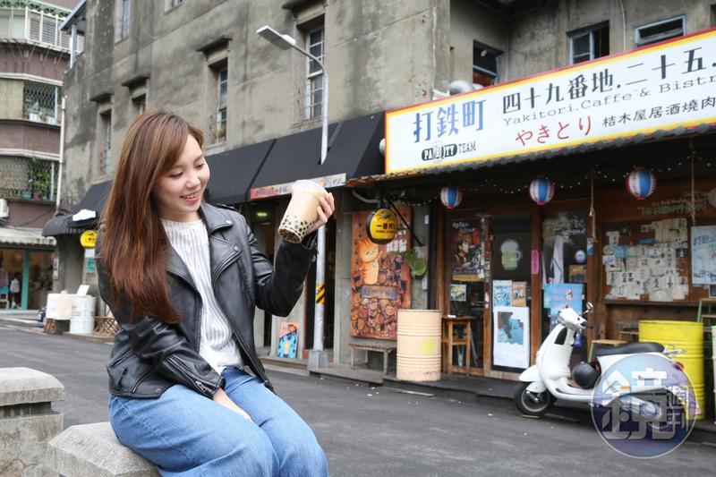 日本新流行語前10名公布,其中「喝珍奶」變成動詞入選。圖為示意圖。
