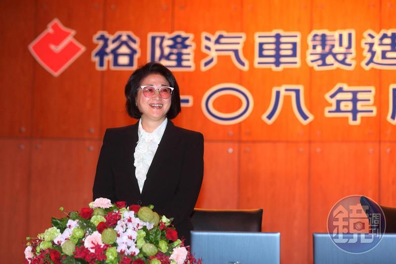 裕隆執行長嚴陳莉蓮這一年來屢屢出手,就讓外界感受到她帶領球隊的剽悍球風。