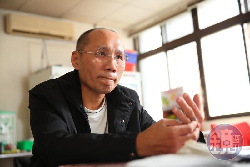 52歲的陶永祥聊到過往荒唐歲月,直說自己「足了然」。