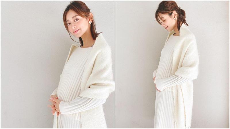 10月底閃婚的松本莉緒在社群網站宣布已經懷孕。(翻攝自松本莉緒IG)