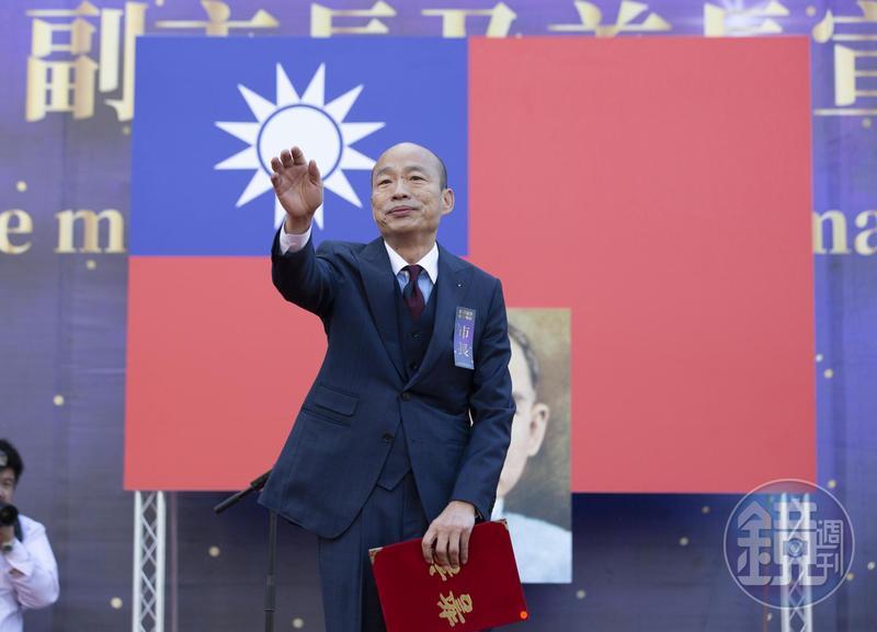 國民黨總統候選人韓國瑜競選辦公室昨發出聲明,表示將對名嘴蔡玉真「台灣基進」臉書小編提起妨害名譽和意圖使人不當選。(本刊資料照)