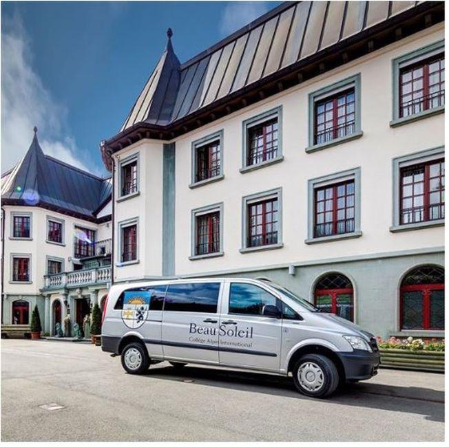 瑞士布索里貴族中學為目前世界上最貴的私立寄宿學校之一 。(翻攝自Instagram)