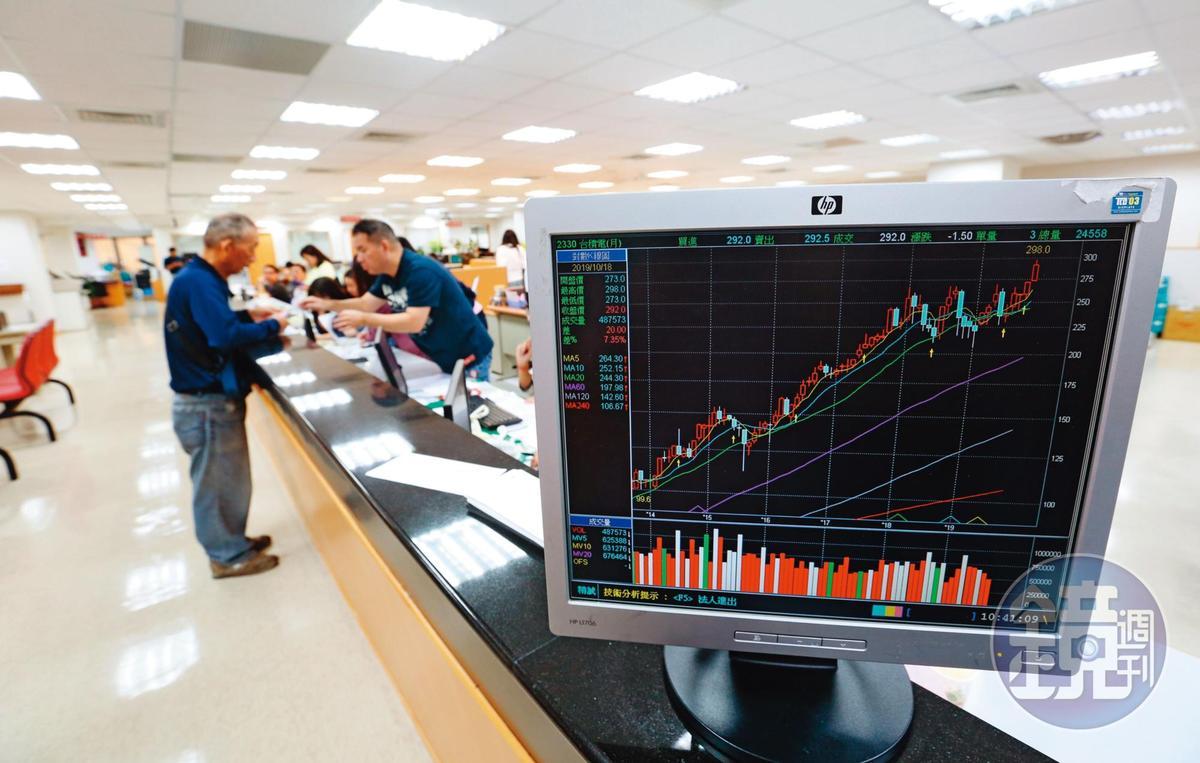 台積電在全球5萬員工齊力打拚下,股價飆破316元,市值達8兆元,創歷史新高。