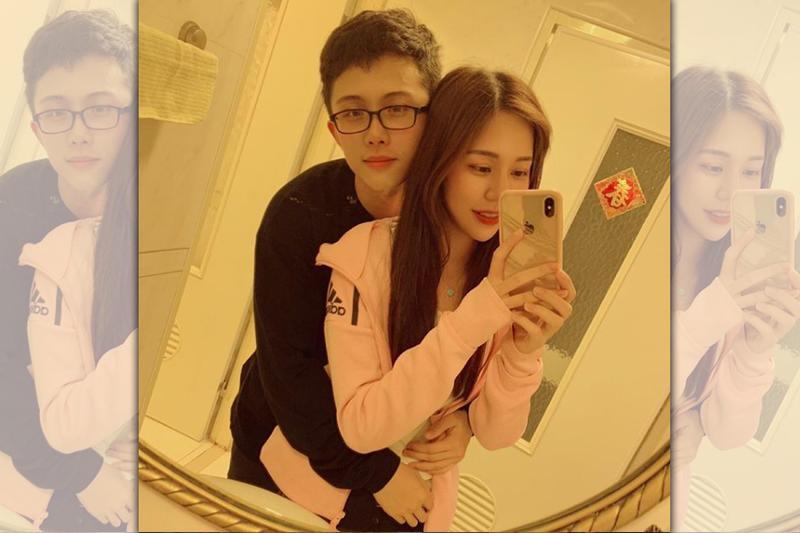 孫安佐8日晚間貼出與前女友阿乃的合照,說她才是最愛。(翻攝自孫安佐IG)
