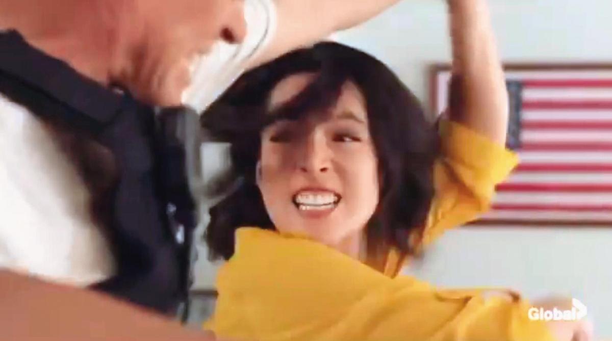 錦榮的新對象Kirstin Leigh,是韓裔女演員,曾演過美國電視劇《檀島警騎》第七季。