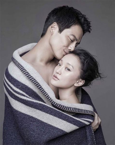 周迅與華裔美籍演員高聖遠在友人的聚會中相遇而閃婚。(翻攝自微博)