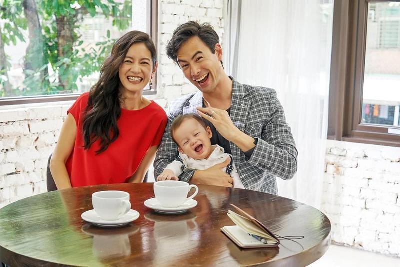 Janet的丈夫吳宇衛儘管擁有律師身分,卻熱愛演藝工作。(歐銻銻娛樂提供)
